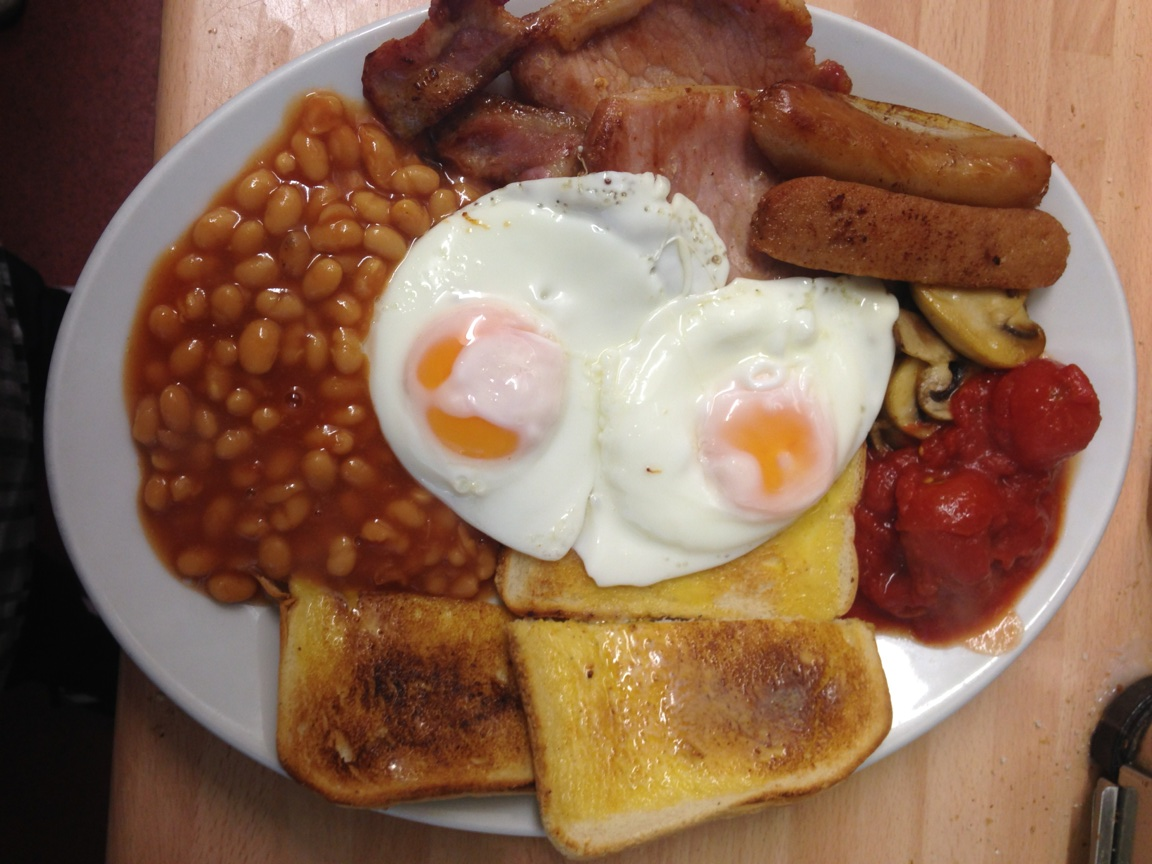 Full English Breakfast will do, and The Singing Kettle Full English ...