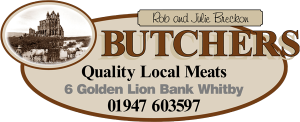 Breckons Butchers Whitby suppliers for The Singing Kettle - Whitby
