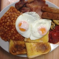 The Singing Kettle Whitby Full English Breakfast